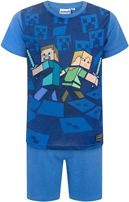 New Carter/'s Girls Dinosaur allover Pajama 2pc Set Snug fit Shortie