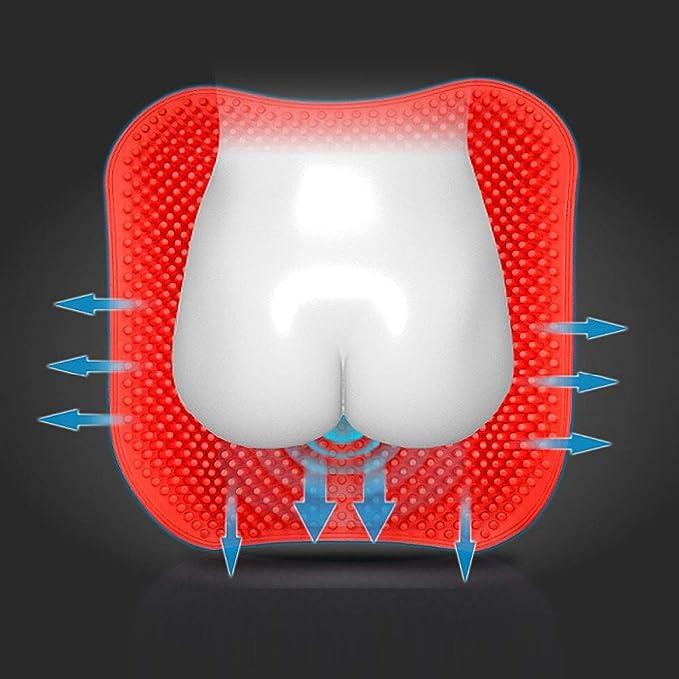 Cojín de gel de sílice 3D transpirable, antideslizante ...