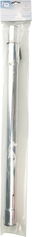 Accesorio para aspiradora Plata, Cromo, 40 mm, 30 mm, 580 mm, 512 g HQ W7-76091-PBN accesorio y suministro de vac/ío