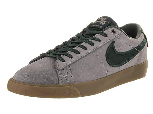 finest selection 140b9 e4832 Nike BLAZER LOW GT mens skateboarding-shoes 704939-018 5 - GUNSMOKE BLACK  SPRUCE