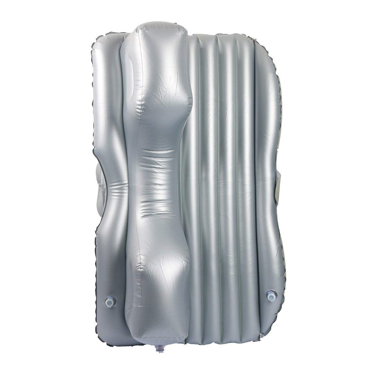 Jeeps SUVs and Mid-size Trucks Outdoor Travel 8milelake Auto Car Inflatable AirBed Mattress Universal with Two Air Pillows for Back Seat of Cars Grey