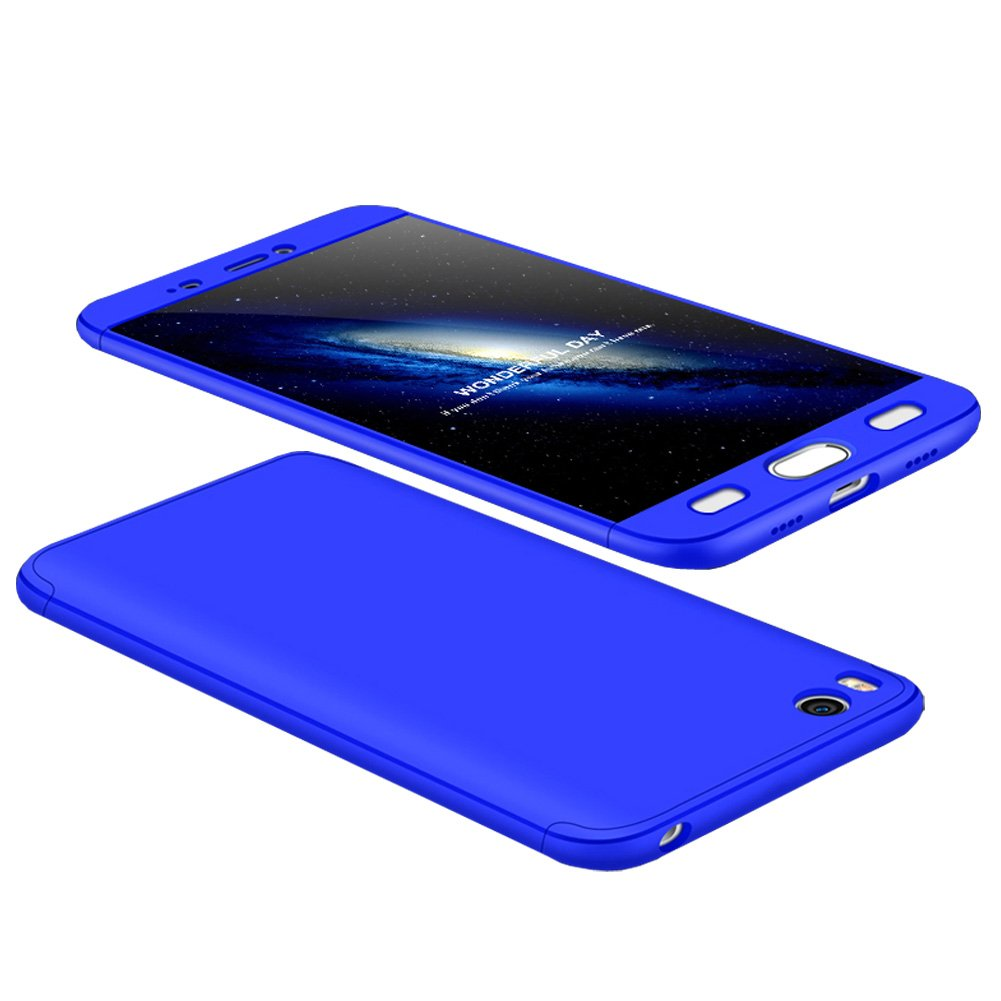 Tmusik Funda Xiaomi Mi6 Mi 6, 360 Grados Integral Carcasa Cuerpo Completo Caso Cubierta, 3 en 1 Híbrido Anti-Choque Snap On Diseño Case, Anti-Arañazos ...