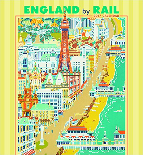 2017 England by Rail Wall Calendar