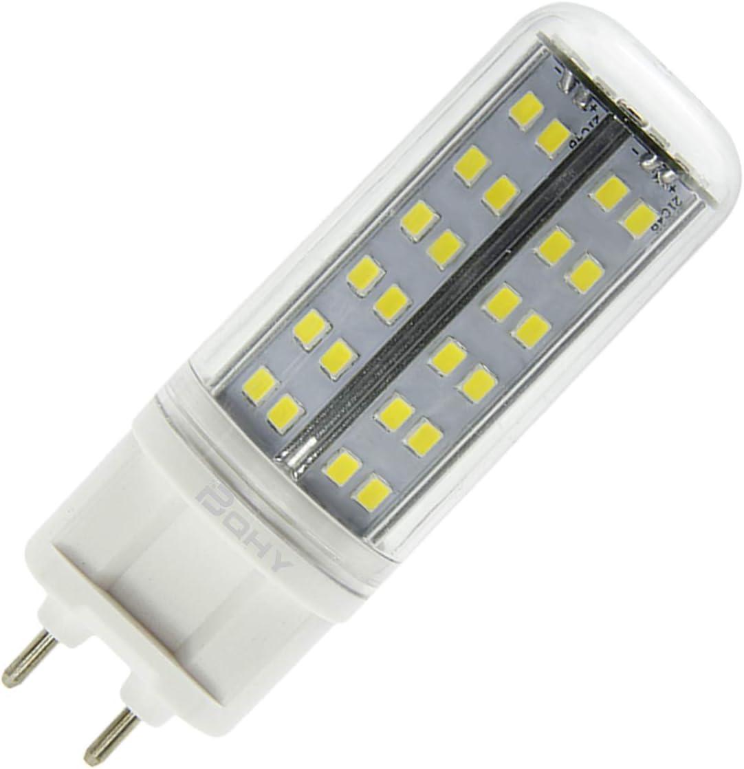 BQHY 6W G12 LED Bombilla luz No Regulable Blanco Frío 6000K 85V-265V Doble Pin LED Bombilla Reemplazar Incandescente 75W 1-Packs [Clase de eficiencia energética A++]