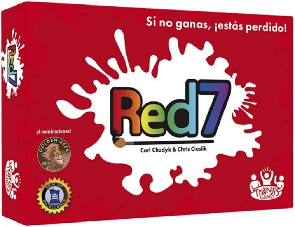 Tranjis Games - Red7 -Juego de cartas (TRG-04red) , color/modelo surtido: Amazon.es: Juguetes y juegos