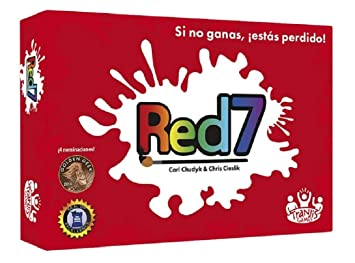Tranjis Games - Red7 - juego de cartas (TRG-04red)