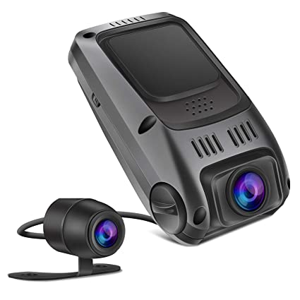 Amazon Com Dual Dash Cam Tryace T8p Front And Rear Dual Lens In