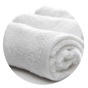 alfombrilla de ratón spa toallas blancas - ronda - 20cm
