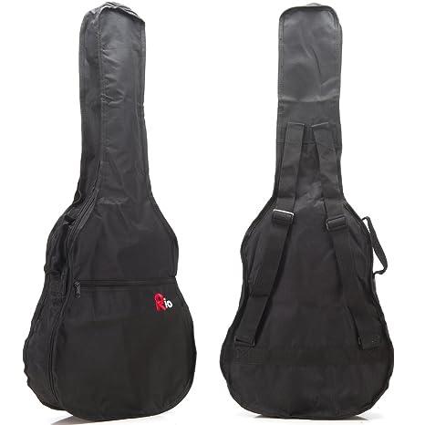 Funda de transporte para guitarra Rio, tamaño 3/4: Amazon.es ...