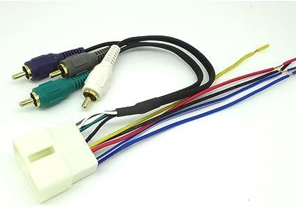 car stereo radio replacement wiring harness amp integration wire adapter plug 1992 2000 lexus sc400 twh 14 lexus sc400 wheels lexus sc400 wiring #10