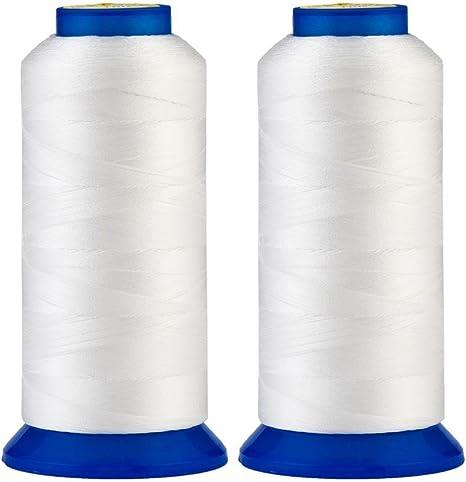 1 Cone Bonded Nylon 40 ROYAL BLUE 3,000 METER CONE UV Treated.