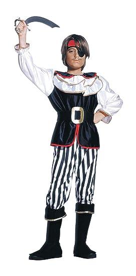 WIDMANN Desconocido Traje de pirata para niños| tamaño de 128 ...
