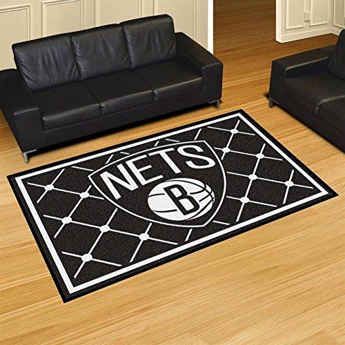 (NBA - New Jersey Nets 5 x 8 Rug)