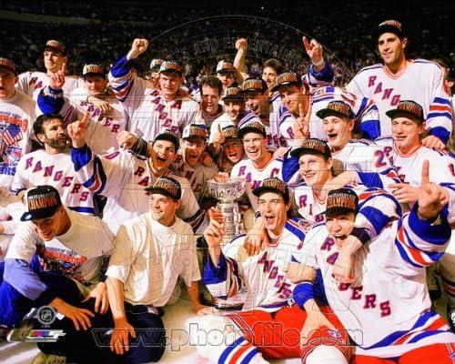New York Rangers 1994 Stanley Cup Celebration Photo 8x10