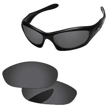 c47159877770 Oak&ban Polarized Replacement Lenses for Oakley Monster Dog Sunglass-Multi  Options Black