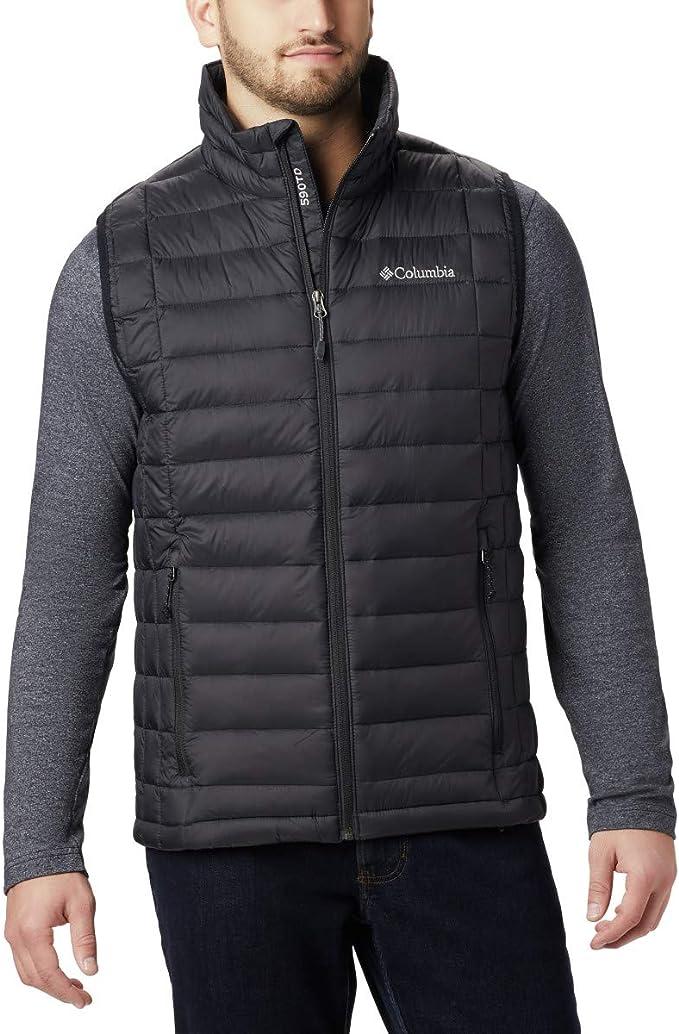 Amazon.com: Columbia Men's Voodoo Falls 590 TurboDown Vest, Black, Small: Clothing
