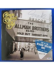 Gregg Allman Signed Brothers Band 1992 Live At The Beacon Album PSA DNA Z97981