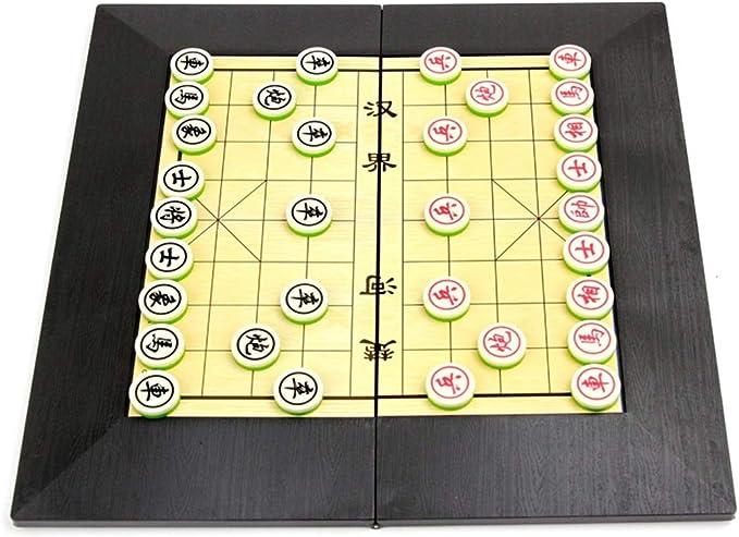 Juego de ajedrez Chino Juego de ajedrez magnético Familia Niños Ocio Juegos de Mesa Rompecabezas Tablero de ajedrez Juguetes Ajedrez Chino Juego de Viaje (Color : Light Green): Amazon.es: Hogar