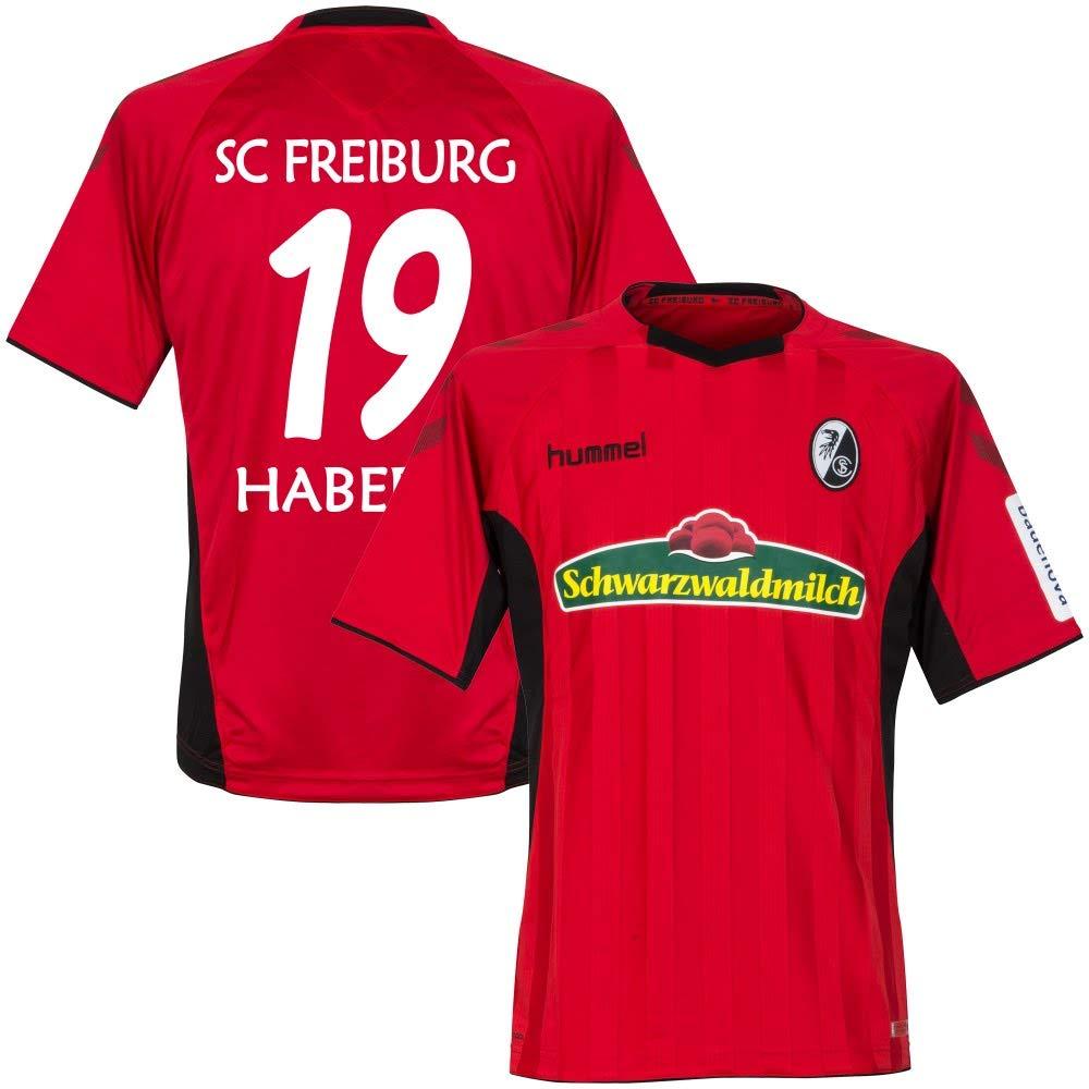 SC Freiburg Home Trikot 2018 2019 + Haberer 19 (Fan Style)