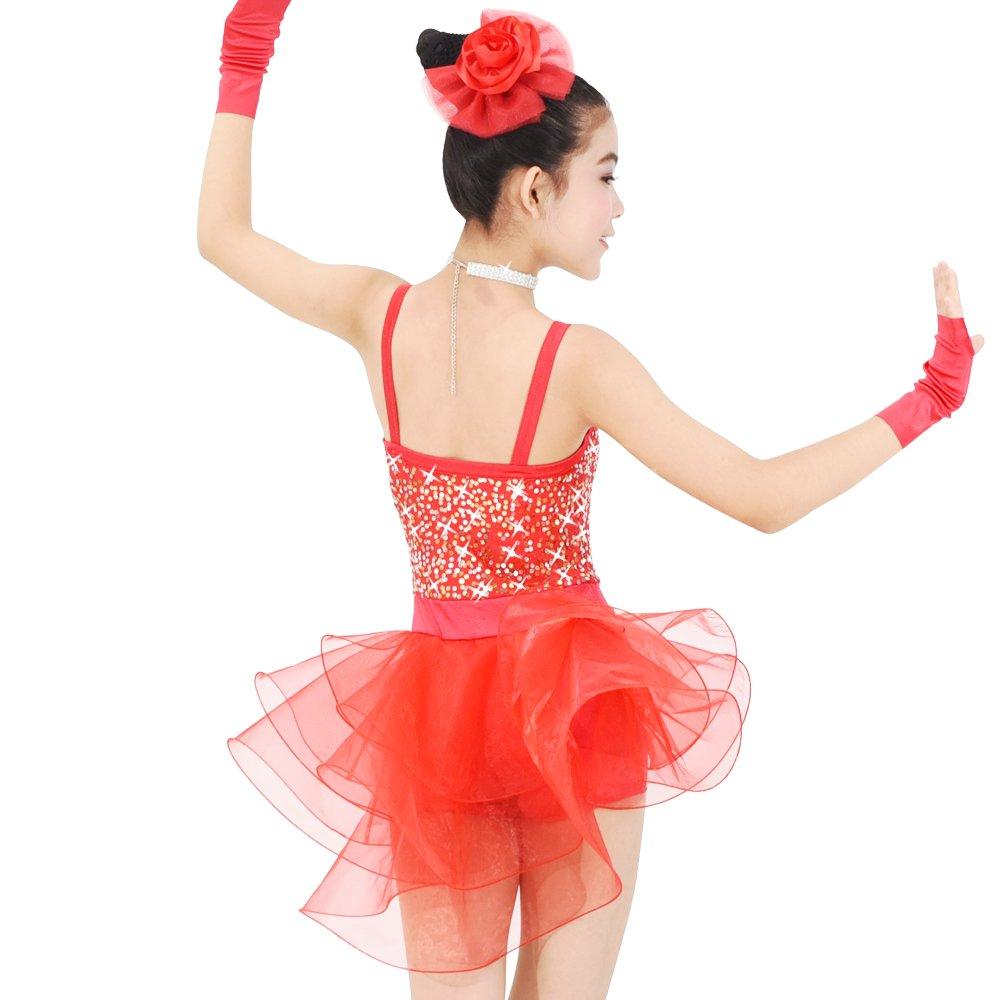 Amazon.com: midee las niñas Camisole Leotardo Vestido de ...