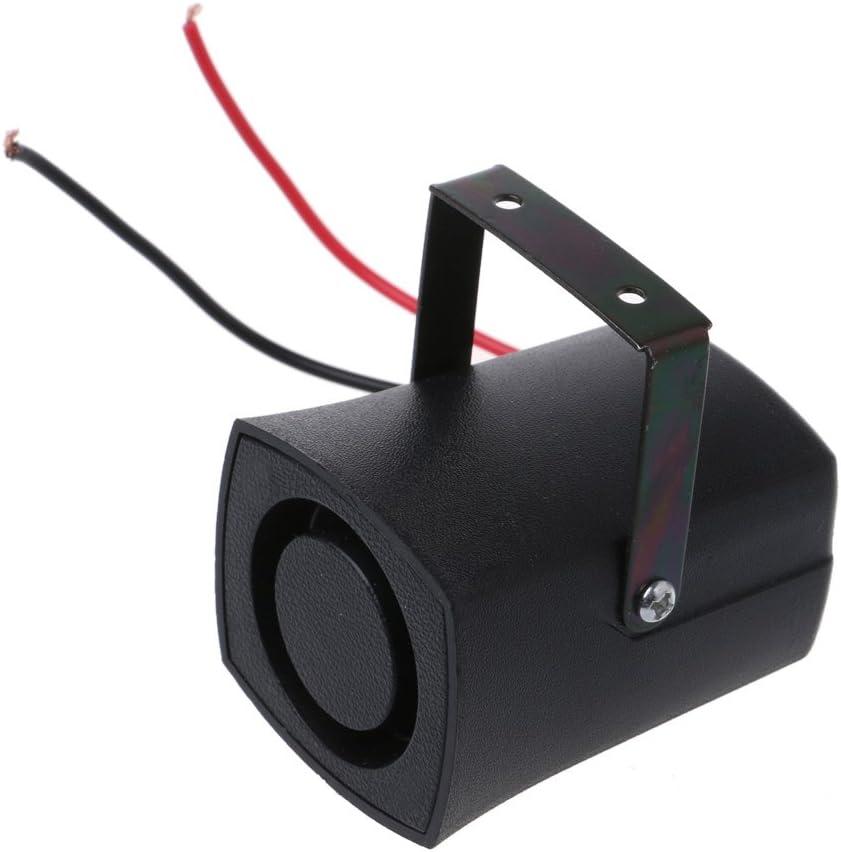 d/ünn unsichtbar akustisch Hupe Sirenenenwarnungen umgekehrt DC 12 V Cuigu Notalarm