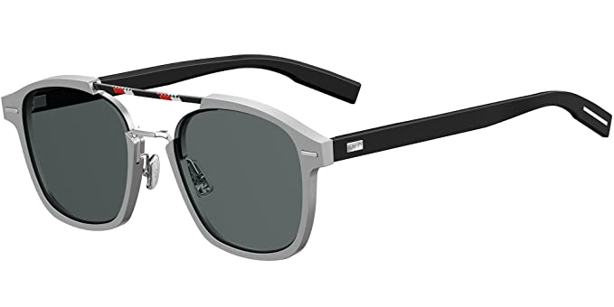 Dior AL13.13 2K 010 Gafas de Sol, Plateado (Palladium Grey ...