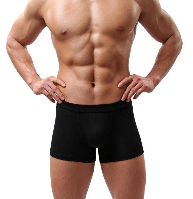 underwear herren sport Kolylong Herren Boxer Shorts Sports Athletic Hose Bulge Pouch 5 Farben