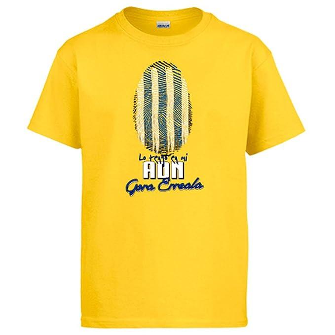 Camiseta lo tengo en mi ADN Real Sociedad fútbol - Amarillo, 3-4 años