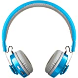 LilGadgets Untangled PRO Kids Premium Wireless Bluetooth Headphones with SharePort and Microphone (Children) - Blue