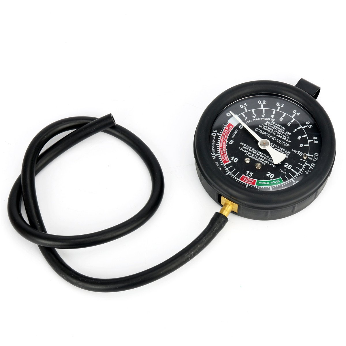 FreeTec Vakuumtester Unterdruck Tester Set Vakuum Messen Benzinpumpe Drucktester Vakuum Tester