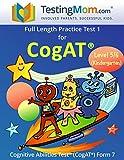 img - for CogAT Test Prep Workbook   Kindergarten (Level 5/6)   Full Length Practice Test book / textbook / text book