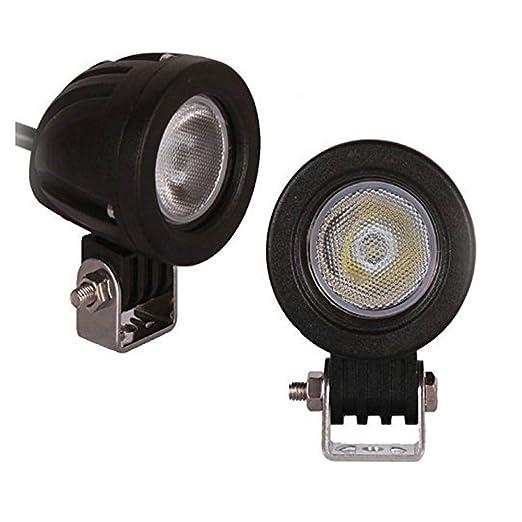 36 opinioni per 10W Cree il fascio luci del lavoro del LED di guida lampade Flood Offroad luci