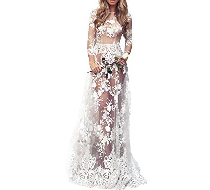 24ff9d736 Sexy Lingerie Hot Cosplay White Bride Wedding Dress Uniform Embroidery Lace  Erotic Underwear Floor Length Dress