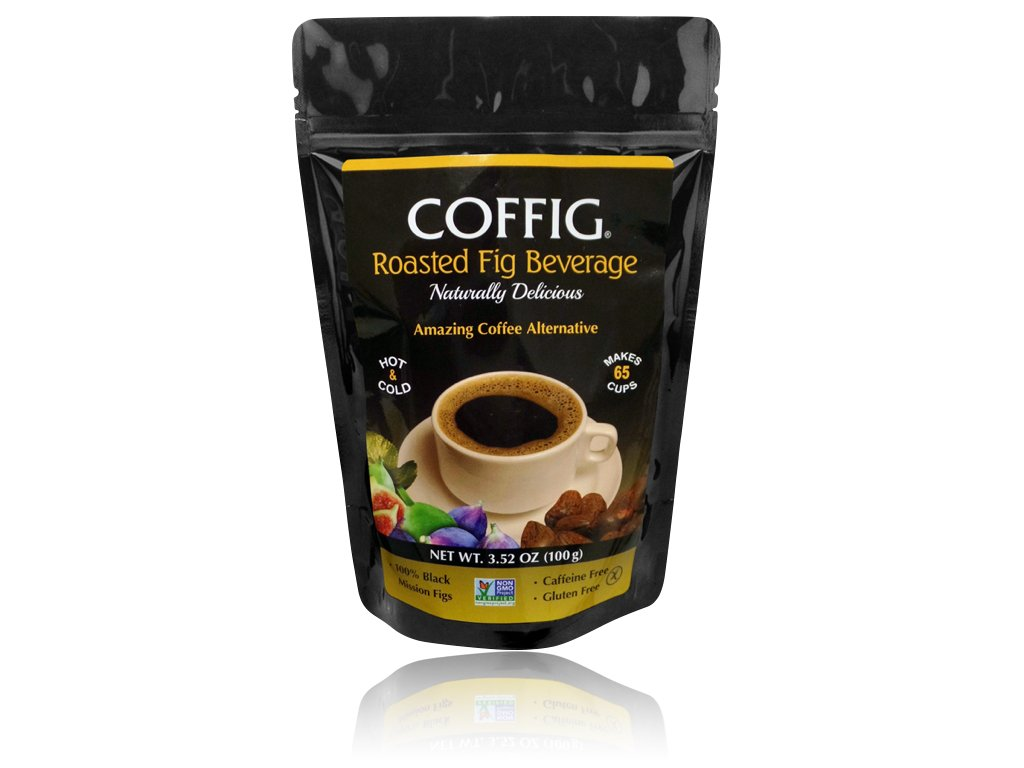 COFFIG (Roast Ground). Coffee Alternative. Caffeine Free, Gluten Free, & Acid Free