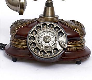 PLYY Tocadiscos Antiguos de teléfono Retro Vintage Antique ...