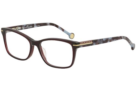 da3ffdff7d Image Unavailable. Image not available for. Color  CH Carolina Herrera  Eyeglasses VHE729K VHE 729K 0954 Burgundy ...