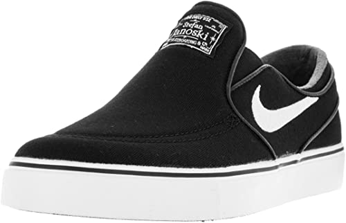 alto rural lógica  Amazon.com | Nike Men's Zoom Stefan Janoski Slip CNVS Skate Shoe  Black/White-Black 8.5 D(M) US | Fashion Sneakers