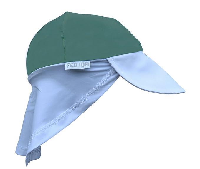 FEDJOA Gorra con Protección Solar UV UPF 50+ para Niños - Transpirable -  Pro Surf  Amazon.es  Ropa y accesorios f0ecf3e25e5