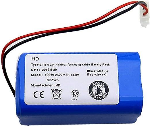 Adanse Recargable para Ilife Batería 14.8V 2600Mah Aspirador Robótico Accesorios Piezas para Ilife A4 A4S A6: Amazon.es: Hogar