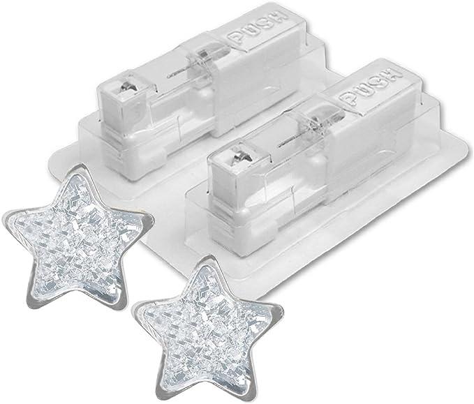 1 Paar STUDEX medizinische Ohrstecker KIRSCHE 5mm Stecker weiß Nr 7512-0666