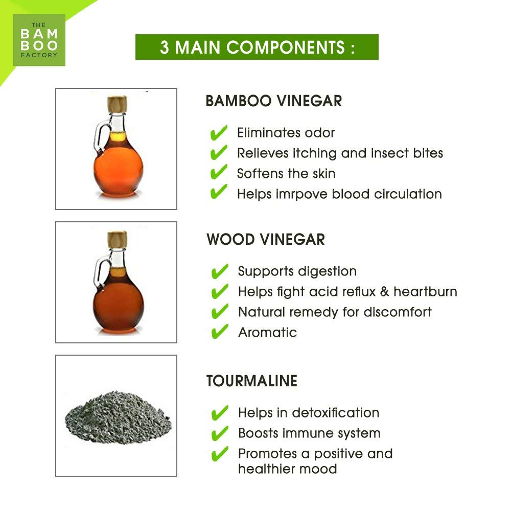 natupur bamboo vinegar foot patch