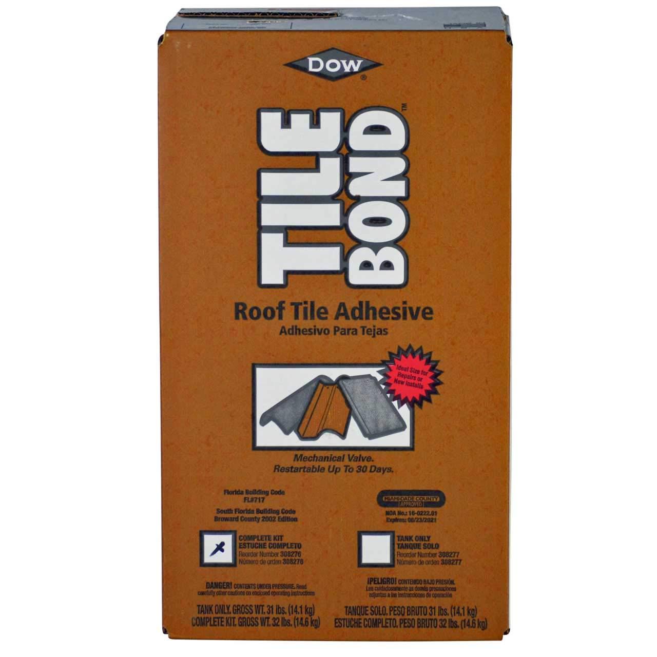 Dow Tile Bond Roof Tile Adhesive, Single Part Polyurethane ...