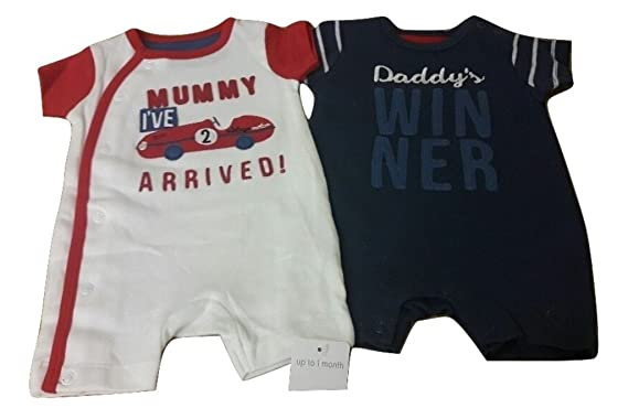 Mixed Items & Lots Mothercare Rompers Bundle 3-6 Months