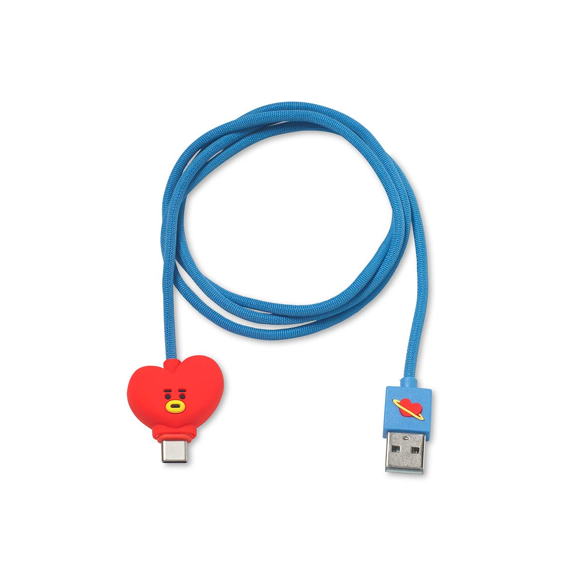 BT21 Official TATA 3ft USB-C a USB-A Charging cable xsr