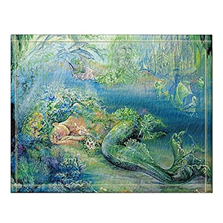 61VWn9r50wL._SS450_ 50+ Mermaid Themed Area Rugs