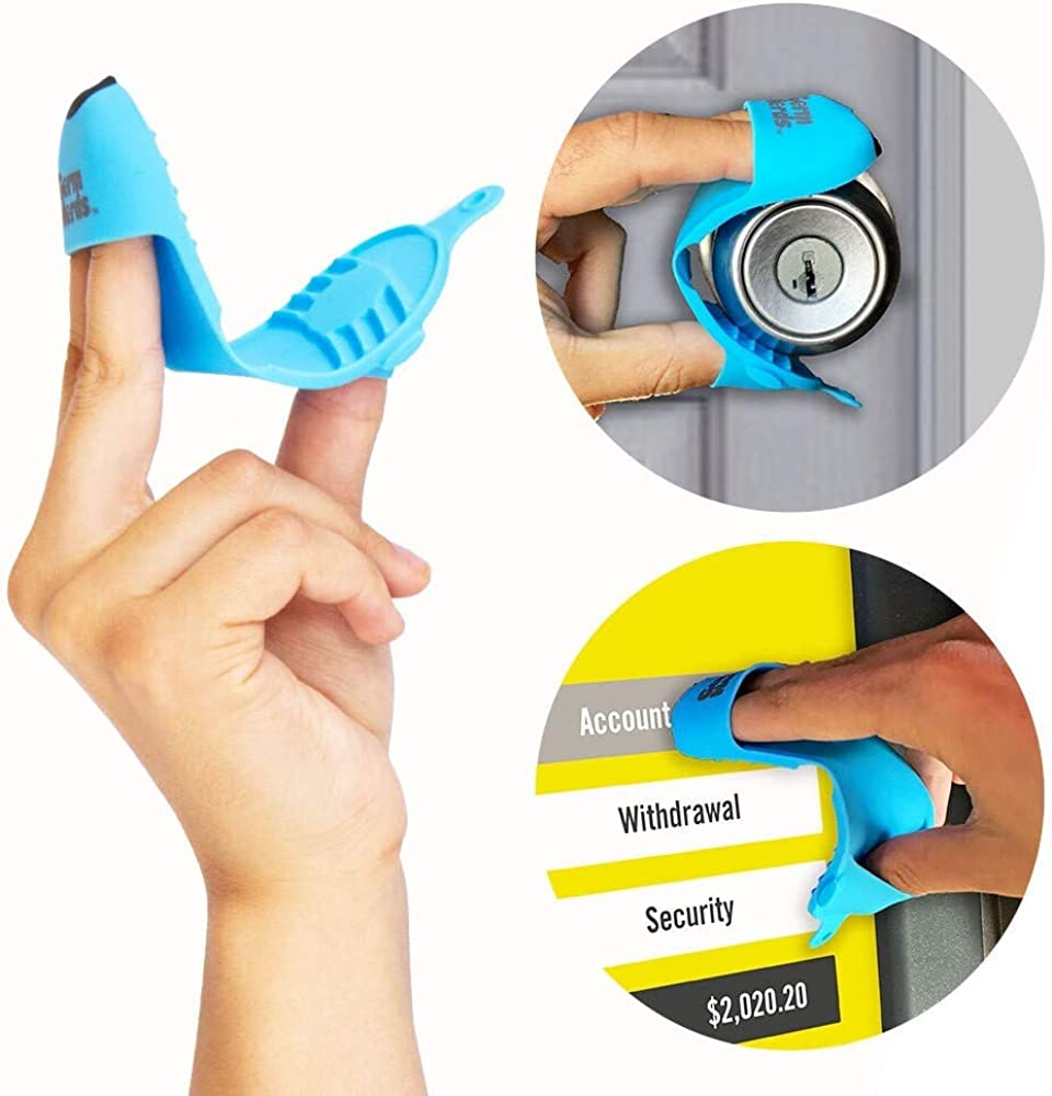 GERM NERDS the nrd. Silicone Door Opener Tool Contactless Button Pusher at  Amazon Men's Clothing store