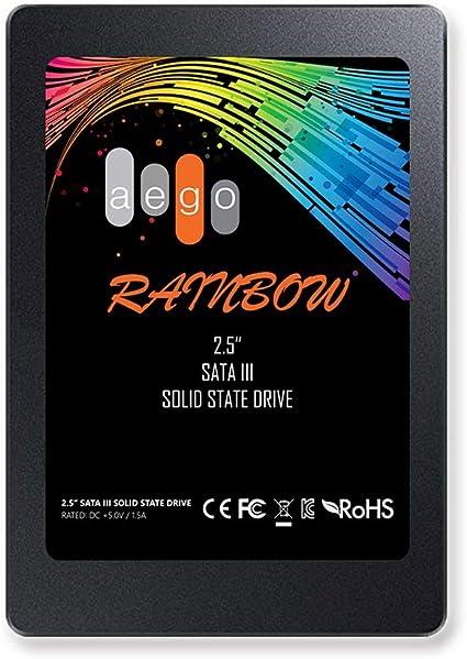 AEGO SSD 120GB Disco Duro Interno Disco sólido Interno de 120GB Estado sólido SATA III para PC de Escritorio/Macpro (SSD de 120GB): Amazon.es: Electrónica