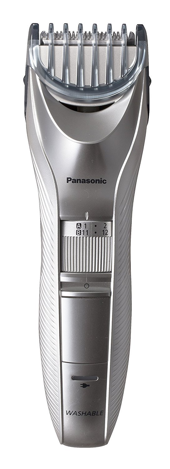 Panasonic ER-GC71 Men's Beard Trimmer, Cordless/Corded Operation with 2 Comb Attachments and and 39 Adjustable Trim Settings, Washable by Panasonic