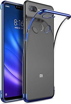KuGi Funda Xiaomi Mi 8 Lite,Xiaomi Mi 8 Lite TPU Transparente Slim ...