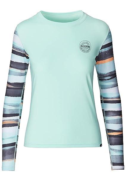 3eee1131ab6 Dakine Womens Flow Loose Fit Long Sleeve Rash Vest Pastel 10002329 Size - XS